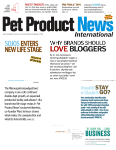 Pet Product News International Magazine